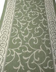 Безворсовая ковровая дорожка Natura Vetka green - высокое качество по лучшей цене в Украине.
