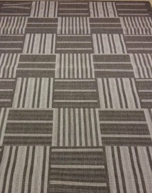 Безворсовая ковровая дорожка Sisal 041 dark grey - высокое качество по лучшей цене в Украине.