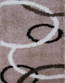 Высоковорсная ковровая дорожка Shaggy Gold 8018 beige - высокое качество по лучшей цене в Украине.