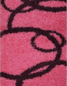 Высоковорсная ковровая дорожка Shaggy Gold 8018 pink - высокое качество по лучшей цене в Украине.
