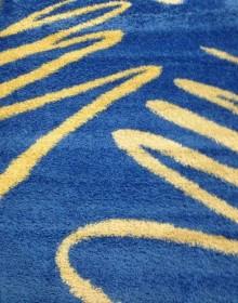 Высоковорсная ковровая дорожка Shaggy 0791 синий - высокое качество по лучшей цене в Украине.