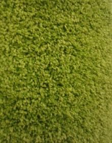 Высоковорсная ковровая дорожка Shaggy Mono 0720 зеленый - высокое качество по лучшей цене в Украине.