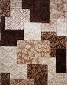 Синтетическая ковровая дорожка Daisy Carving 8430A brown - высокое качество по лучшей цене в Украине.