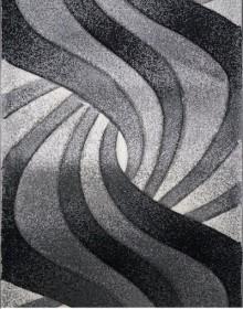 Синтетическая ковровая дорожка Daisy Carving 8478A grey - высокое качество по лучшей цене в Украине.