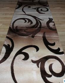 Синтетическая ковровая дорожка Daisy Carving 8408A beige - высокое качество по лучшей цене в Украине.