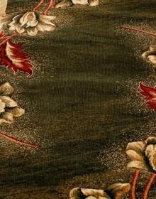Синтетическая ковровая дорожка Nidal 4616B d.green-ivory - высокое качество по лучшей цене в Украине.
