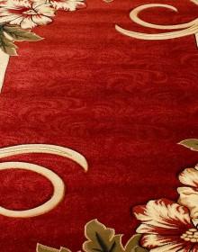 Синтетическая ковровая дорожка Nidal 5087A d.red-ivory - высокое качество по лучшей цене в Украине.