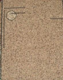 Синтетическая ковровая дорожка Silver 091-12 Heometria beige Rulon - высокое качество по лучшей цене в Украине.