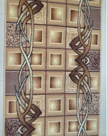 Синтетическая ковровая дорожка Silver 096-12 Bantik beige Rulon - высокое качество по лучшей цене в Украине.