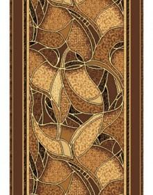 Синтетическая ковровая дорожка Silver 132-12 brown Rulon - высокое качество по лучшей цене в Украине.