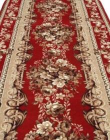 Синтетическая ковровая дорожка Silver 235-22 Buket red Rulon - высокое качество по лучшей цене в Украине.