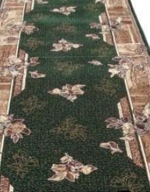 Синтетическая ковровая дорожка Silver 300-32 Kantri green Rulon - высокое качество по лучшей цене в Украине.