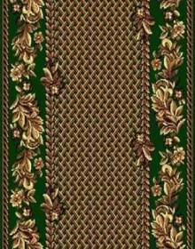 Синтетическая ковровая дорожка Silver  / Gold Rada 316-32 green - высокое качество по лучшей цене в Украине.