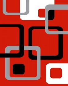 Синтетическая ковровая дорожка Soprano 12282 , RED - высокое качество по лучшей цене в Украине.