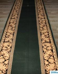 Кремлевская ковровая дорожка Super Elmas 2550A d.green-black - высокое качество по лучшей цене в Украине.