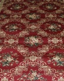 Синтетическая ковровая дорожка Super Elmas 4588A d.red-ivory АКЦИЯ - высокое качество по лучшей цене в Украине.