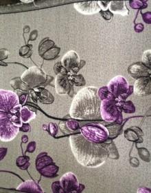 Синтетическая ковровая дорожка Vitebsk Kvitka violet - высокое качество по лучшей цене в Украине.