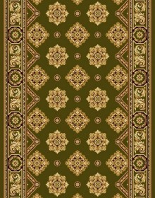 Шерстяная ковровая дорожка Floare-Carpet Garden 89-5542 - высокое качество по лучшей цене в Украине.