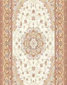 Высокоплотная ковровая дорожка Mashhad 0507B cream - высокое качество по лучшей цене в Украине.