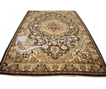 Иранский ковер Diba Carpet Esfahan D.Brown - высокое качество по лучшей цене в Украине