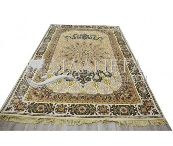 Иранский ковер Diba Carpet Setareh Cream - высокое качество по лучшей цене в Украине