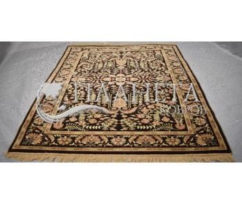 Иранский ковер Diba Carpet Farahan Dark Brown - высокое качество по лучшей цене в Украине