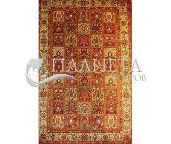 Иранский ковер Diba Carpet Kheshti l.red - высокое качество по лучшей цене в Украине