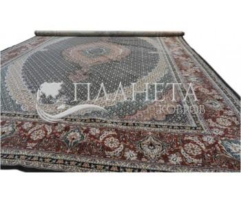 Иранский ковер Diba Carpet Mahi-esfahan d.brown - высокое качество по лучшей цене в Украине