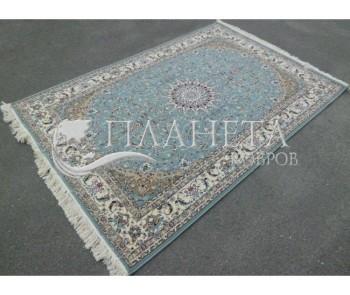 Иранский ковер Shah Abbasi X-042-1460 blue - высокое качество по лучшей цене в Украине