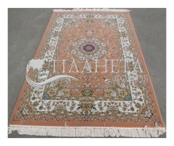 Иранский ковер SHAH ABBASI COLLECTION (Y-009/8040 PINK) - высокое качество по лучшей цене в Украине