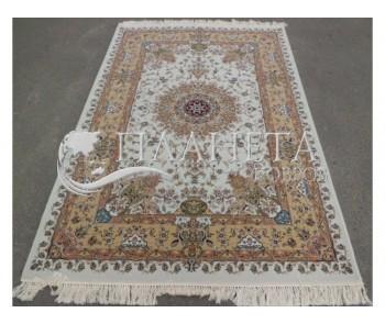 Иранский ковер Shah Kar Collection (Y-009/8001 cream) - высокое качество по лучшей цене в Украине
