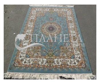 Иранский ковер Shah Kar Collection (Y-009/80060 blue) - высокое качество по лучшей цене в Украине