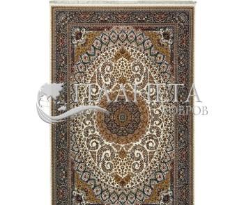 Иранский ковер Shahriar 2914B Cream-Navy - высокое качество по лучшей цене в Украине