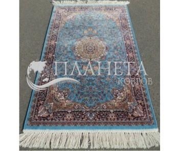 Иранский ковер Silky Collection (D-015/1069 blue) - высокое качество по лучшей цене в Украине