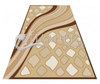 Акриловый ковер Amada K006 bej - высокое качество по лучшей цене в Украине
