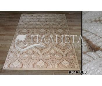 Акриловый ковер Amada K016 bej - высокое качество по лучшей цене в Украине