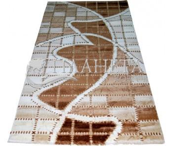 Акриловый ковер Azora 9817A d.brown - высокое качество по лучшей цене в Украине