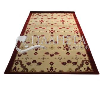 Акриловый ковер Exclusive 0310 RED - высокое качество по лучшей цене в Украине