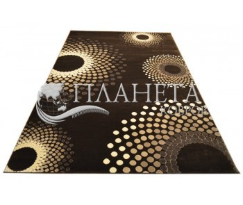 Акриловый ковер Florya 0033 kahve - высокое качество по лучшей цене в Украине
