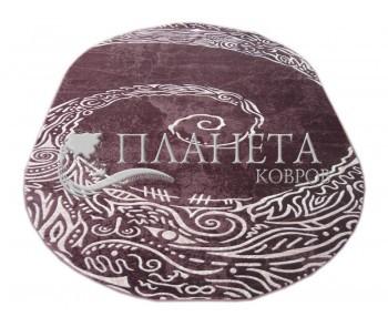 Акриловый ковер Florya 0069 lila - высокое качество по лучшей цене в Украине