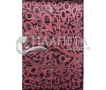 Акриловый ковер Florya 0170 lila - высокое качество по лучшей цене в Украине