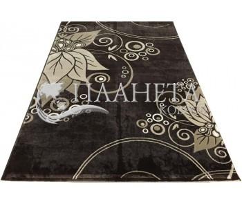 Акриловый ковер Florya 0189 brown - высокое качество по лучшей цене в Украине