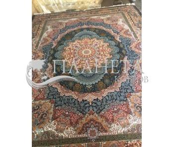 Иранский ковер JINOUS D.BLUE  - высокое качество по лучшей цене в Украине.