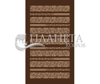 Акриловый ковер Jival 825 , BROWN - высокое качество по лучшей цене в Украине