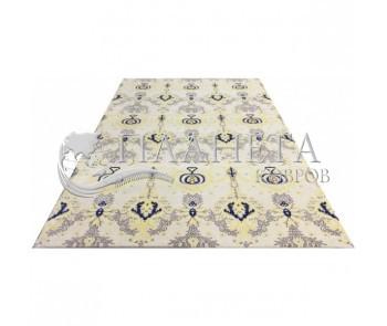 Акриловый ковер Sahra 0002 Beige-Mavy - высокое качество по лучшей цене в Украине.