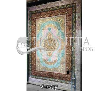 Иранский ковер Diba Carpet Versay gray-brown-copper - высокое качество по лучшей цене в Украине