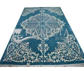 Иранский ковер Diba Carpet Sorena blue - высокое качество по лучшей цене в Украине