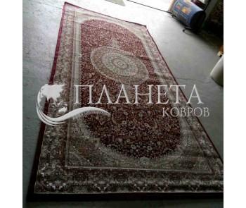 Высокоплотный ковер Begonya 0925 bordo - высокое качество по лучшей цене в Украине