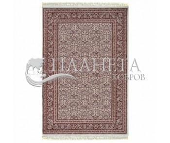 Высокоплотный ковер Esfehan J217A Ivory-D.Red - высокое качество по лучшей цене в Украине
