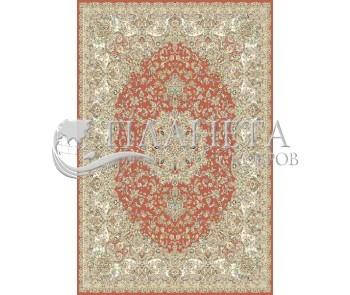 Иранский ковер Marshad Carpet 3017 Red - высокое качество по лучшей цене в Украине